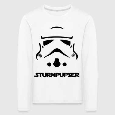Sturpupser - The shirt - Kids' Premium Longsleeve Shirt
