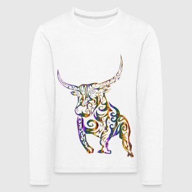 Tribal / Taurus - Premium langermet T-skjorte for barn