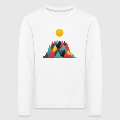 Mountains - Kids' Premium Longsleeve Shirt