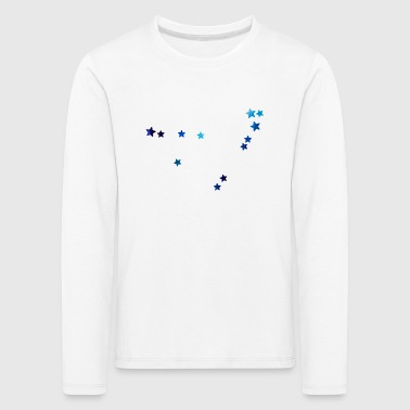 zodiac sign Capricorn galaxy - Kids' Premium Longsleeve Shirt