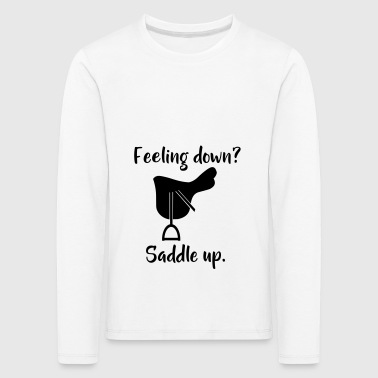 saddle up - Kids' Premium Longsleeve Shirt