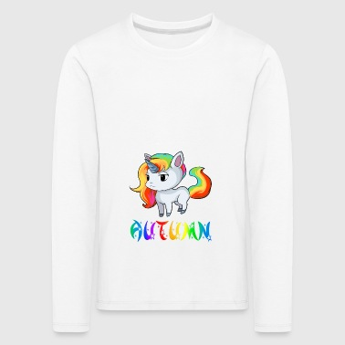 Unicorn Autumn - Kids' Premium Longsleeve Shirt
