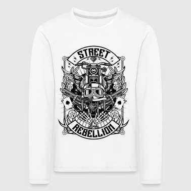 Street Rebellion Motorcycle s - Kids' Premium Longsleeve Shirt