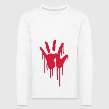 6061912 121813127 Blood - Kids' Premium Longsleeve Shirt