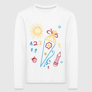 School, school start, children, back to school - Kids' Premium Longsleeve Shirt