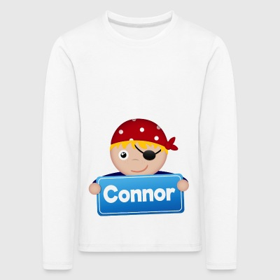 Little Pirate Connor - Kids' Premium Longsleeve Shirt