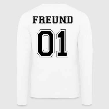 Freund - Black Edition - Kinder Premium Langarmshirt