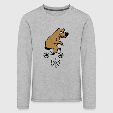 sporty bear - Kids' Premium Longsleeve Shirt