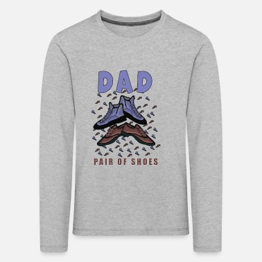 dad father dad father's day gift - Kids' Premium Longsleeve Shirt