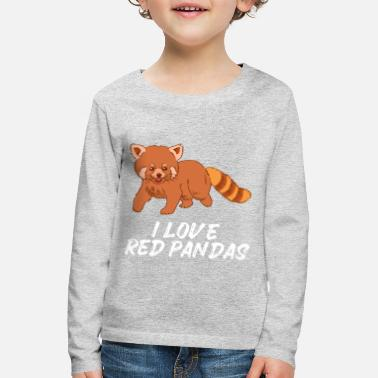 Sweet Cat Bear Red Panda Red Panda - Kids' Premium Longsleeve Shirt