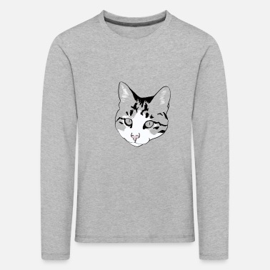 i love my cat - Kids' Premium Longsleeve Shirt