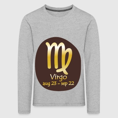 Virgo Horoskop - Premium langermet T-skjorte for barn