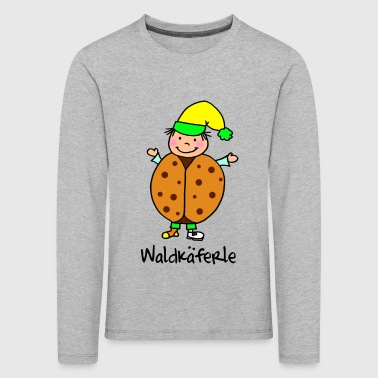 Waldkaefer - a sweet companion for the forest - Kids' Premium Longsleeve Shirt