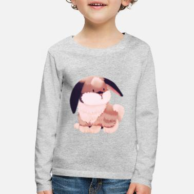 Illustration Illustration - Bunny - Premium langærmet T-shirt til børn