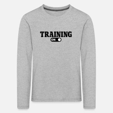 Training Training on - T-shirt manches longues Premium Enfant