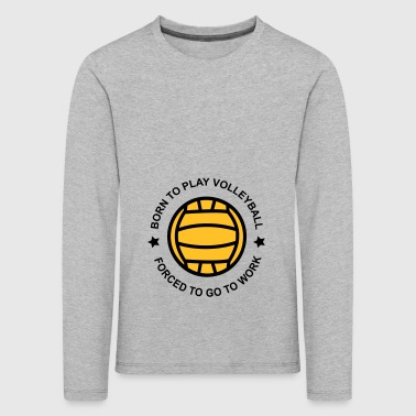 Volleyball 2541614 126236096 Volleyball - Kids' Premium Longsleeve Shirt