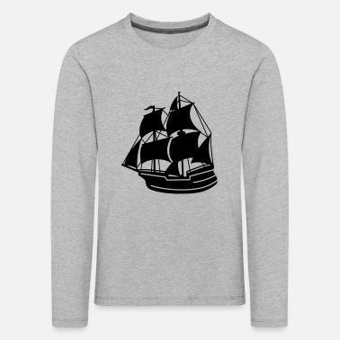 Pirate Ship pirate ship - Kids' Premium Longsleeve Shirt