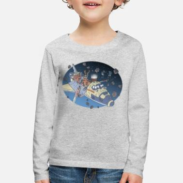 Space Adventure - Kids' Premium Longsleeve Shirt
