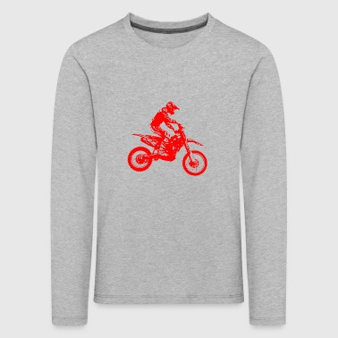 enduro red - Kinder Premium Langarmshirt