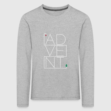 Advent - Kinder Premium Langarmshirt