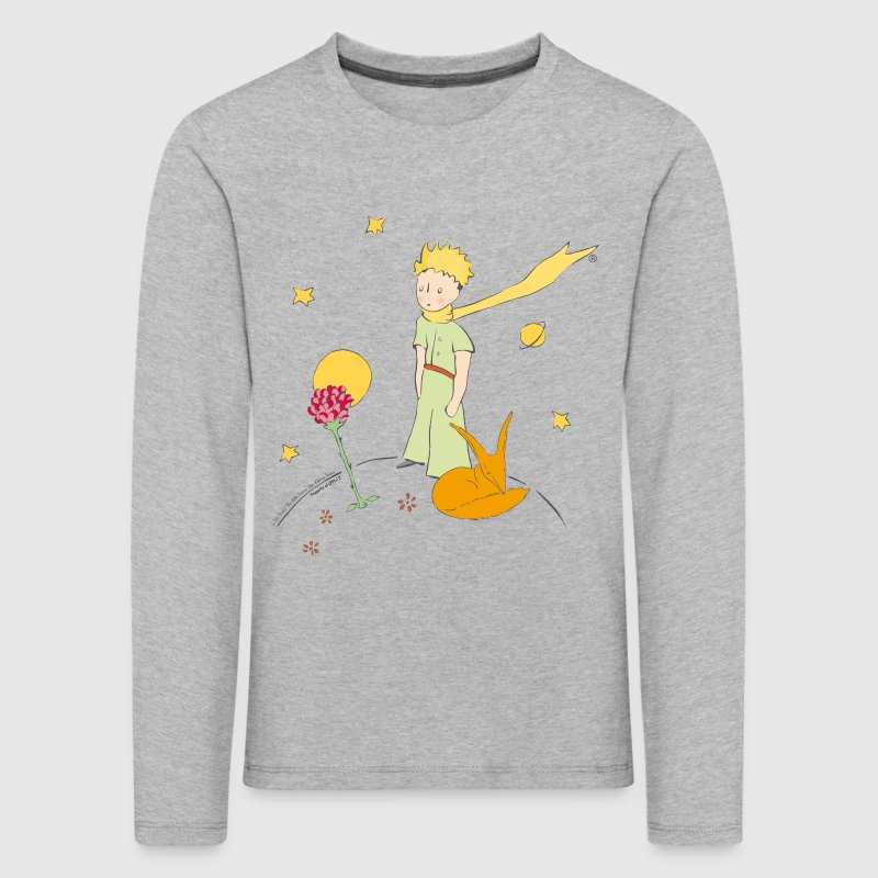 The Little Prince Travels With Birds - Kids' Premium Longsleeve Shirt