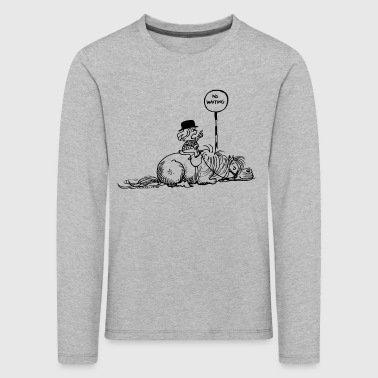Thelwell 'No waiting' - Kids' Premium Longsleeve Shirt