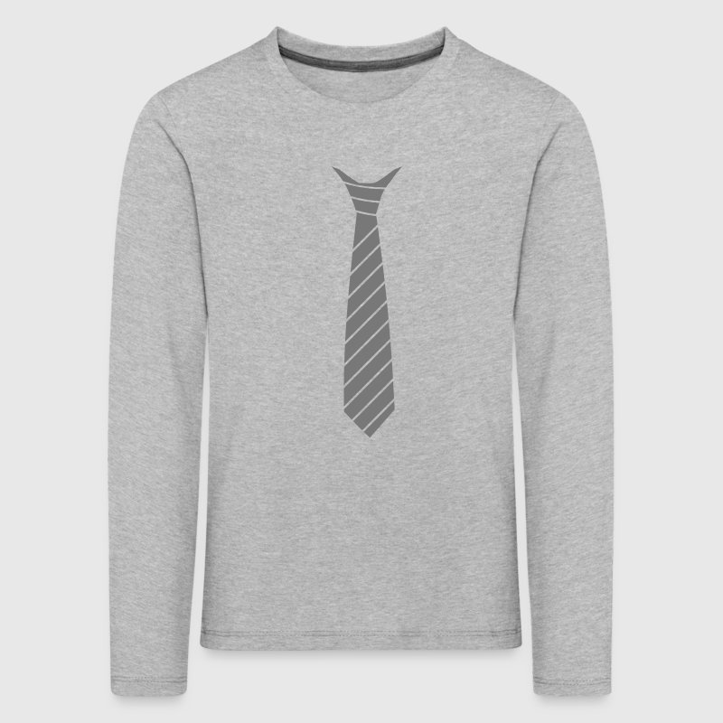 Ties illusion - Kids' Premium Longsleeve Shirt