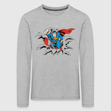DC Comics Originals Superman Flying - Kinderen Premium shirt met lange mouwen
