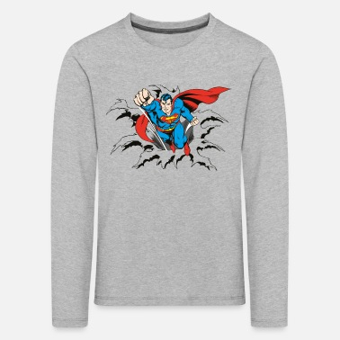 Superman DC Comics Originals Superman Flying - Kinderen Premium shirt met lange mouwen