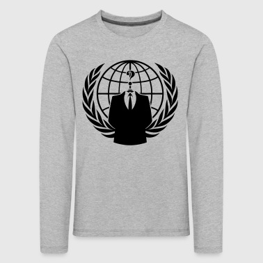 ANONYMOUS - Kinder Premium Langarmshirt