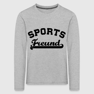 sports fan - Kids' Premium Longsleeve Shirt