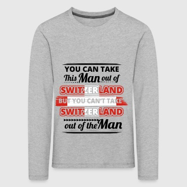Gift from dear origin man SWITZERLAND - Kids' Premium Longsleeve Shirt