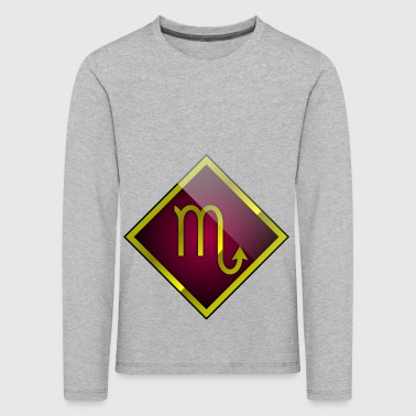 Scorpio astrology horoscope - Kids' Premium Longsleeve Shirt