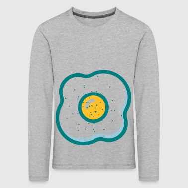 fried egg - Kids' Premium Longsleeve Shirt
