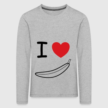I love banana fruit gift idea - Kids' Premium Longsleeve Shirt