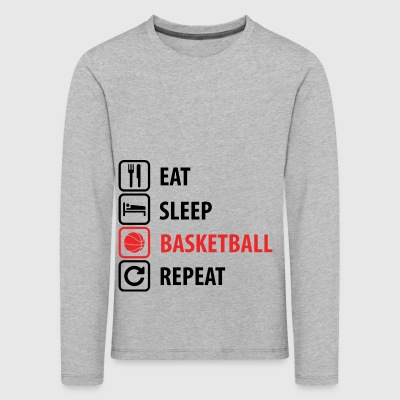 Basketball - Kids' Premium Longsleeve Shirt