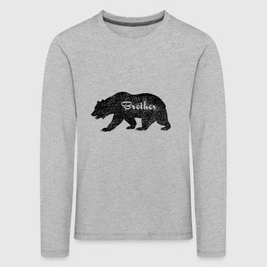 Brother Bear Camping Gifts. Gifts for brother.SALE - Kids' Premium Longsleeve Shirt