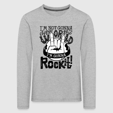 Rock It - Kinder Premium Langarmshirt