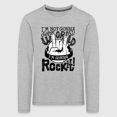 Rock It - Kids' Premium Longsleeve Shirt