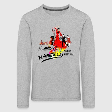 FLAMENCO - Premium langermet T-skjorte for barn