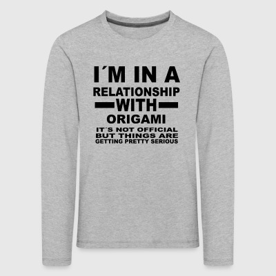 Relationship with ORIGAMI - Kids' Premium Longsleeve Shirt