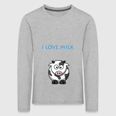 I LOVE MILK BOY - Kids' Premium Longsleeve Shirt