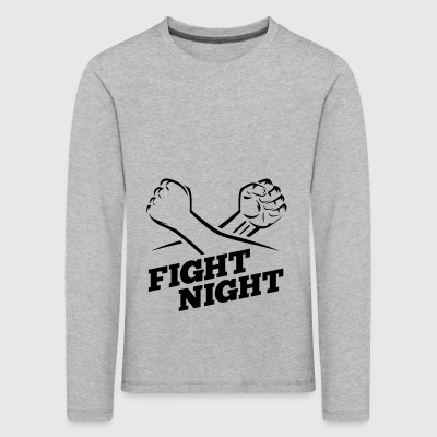Fight Night boxe Kickboxing - T-shirt manches longues Premium Enfant