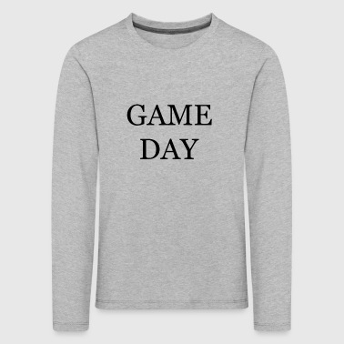 Collection Game Day - T-shirt manches longues Premium Enfant