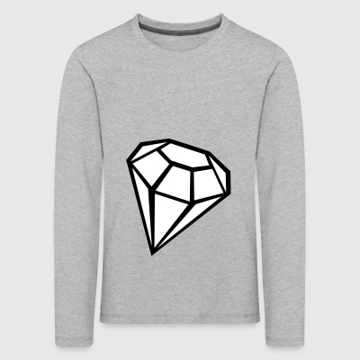 2541614 135368687 Diamond - Kids' Premium Longsleeve Shirt