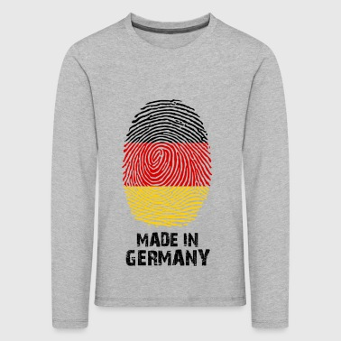 Germany flag - Made in Germany - gift - Kids' Premium Longsleeve Shirt