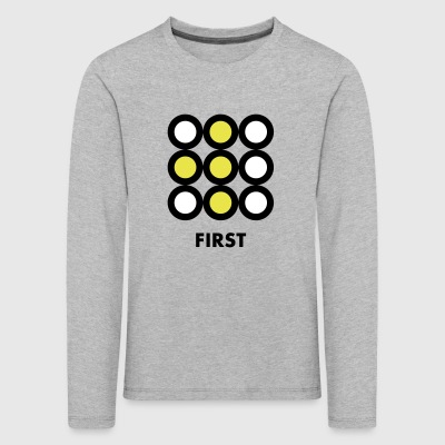 First - Kids' Premium Longsleeve Shirt