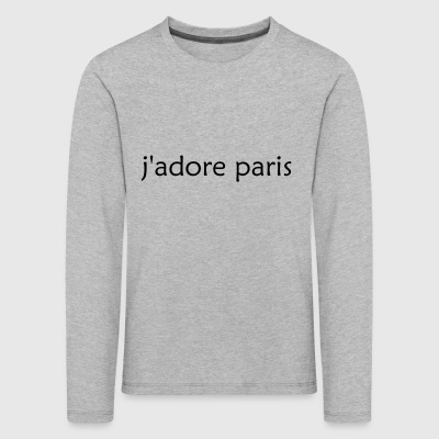'I Love Paris' French - Kids' Premium Longsleeve Shirt
