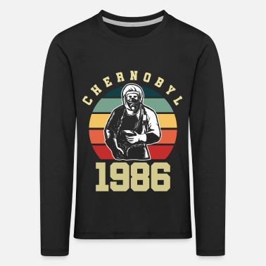 The Nuclear Disaster Of Chernobyl Chernobyl nuclear power plant environmental protection disaster - Kids' Premium Longsleeve Shirt