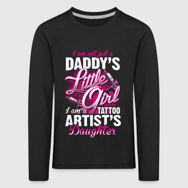 Tattoo Artist's Daughter - Tattoo - EN - T-shirt manches longues Premium Enfant